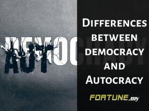 DIfferences between democracy and Autocracy