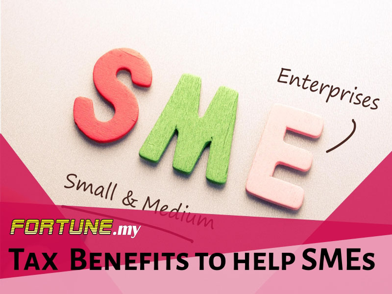 Tax benefits to help SMEs