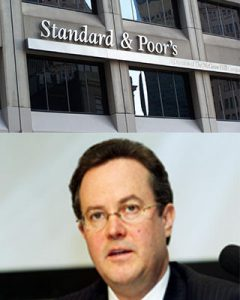 Head Standard Poor stepping down analysts said helped door