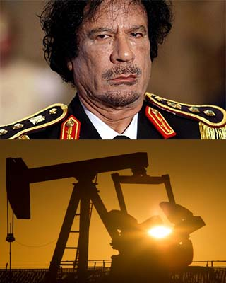 Oil prices expected to drop with overthrow of Gadhafi government