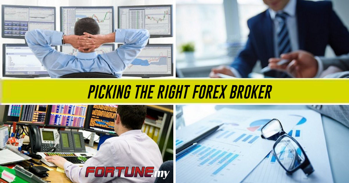 Picking the right Forex Broker
