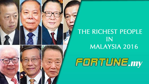 The Richest People in Malaysia 2016