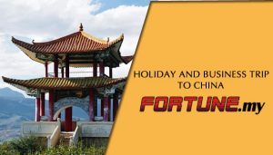 HOLIDAY AND BUSINESS TRIP TO CHINA