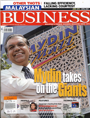 Malaysian Business Magazine