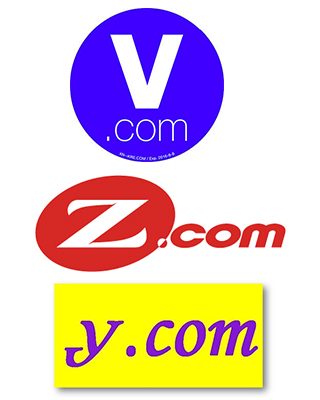 Single character Domain Names Domain and Website for Sale