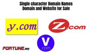 Single_character_Domain_Names