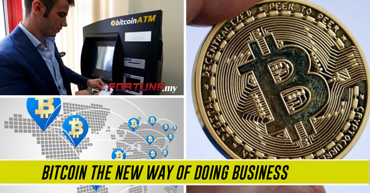 Is Bitcoin the new way of doing business?